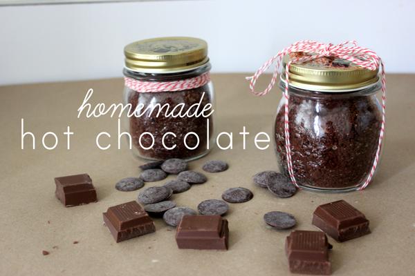 homemade hot chocolate | via withach.com