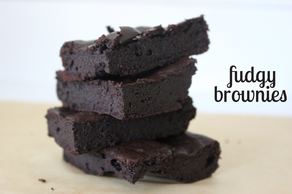 fudgy paleo brownies | via http://withach.com