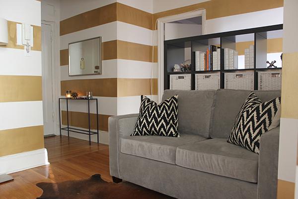 west elm sofa & pillows | http://withach.com