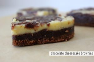cheesecake brownies via http://withach.com