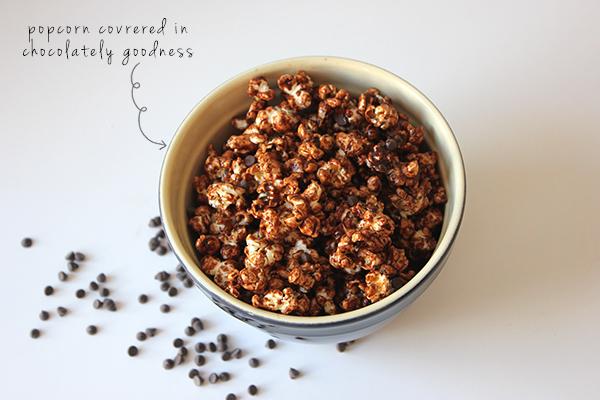 chocolate popcorn | via withach.com