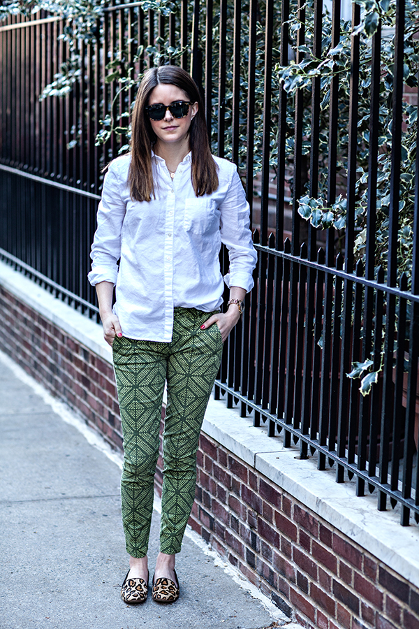 geometric green | via withach.com