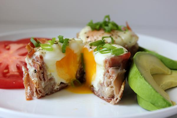 prosciutto-wrapped eggs || via withach.com