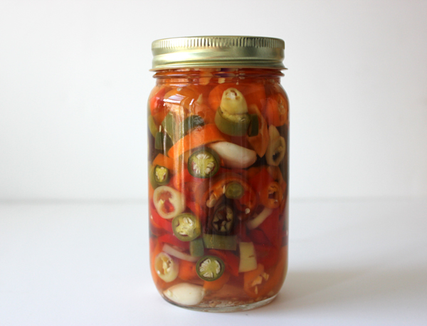 pickled peppers | via withach.com