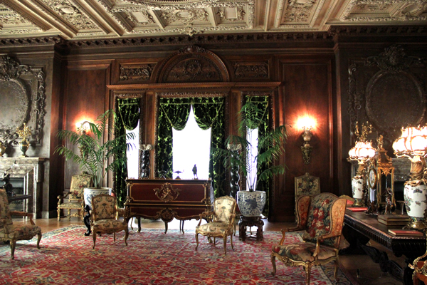 vanderbilt mansion hyde park sitting room