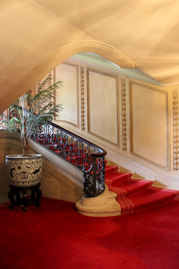 vanderbilt mansion hyde park staircase